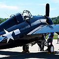 Us Ww II Fighter Plane by Thomas Woolworth