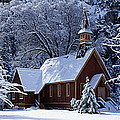 Usa, California, Yosemite Park, Chapel by Panoramic Images