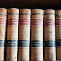 Usa, Nevada Old Law Books In Library by Michael Defreitas