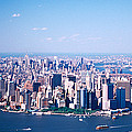 Usa, New York, Lower Manhattan, Aerial by Panoramic Images