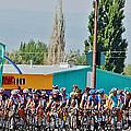 Usa Pro Challenge Bike Race Montrose Colorado by Janice Pariza