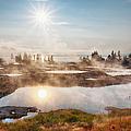 Usa, Wyoming, Yellowstone National by Bryan Mullennix