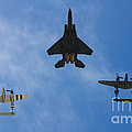 Usaf Heritage Flight by Tommy Anderson