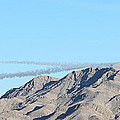 Usaf Thunderbirds Precision Flying Two by Carl Deaville