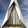 Usafa Chapel Front Exterior by Alan Marlowe