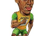 Usain Bolt by Art