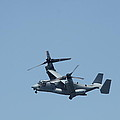 Usmc Osprey Over New York by Christiane Schulze Art And Photography
