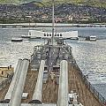 Uss Arizona Memorial-pearl Harbor V4 by Douglas Barnard
