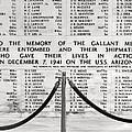 U.s.s. Arizona Pearl Harbor Memorial by Barbara West