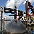 Uss Blue Back Submarine by Susan Garren