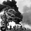 Uss Bunker Hill Aircraft Carrier by Everett