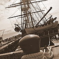 Uss Constitution by Catherine Reusch Daley