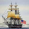 Uss Constitution by James Williamson