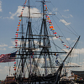 Uss Constitution by Mike Ste Marie