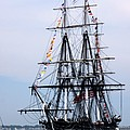 Uss Constitution by Nancy A Santry