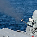 Uss Harry S. Truman Tests The Close-in by Stocktrek Images