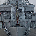 Uss Kidd Dd 661 Front View by Maggy Marsh