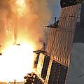 Uss Michael Murphy Fires An Rim-66m by Stocktrek Images