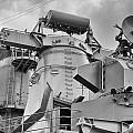 Uss Missouri- Radar System by Douglas Barnard