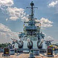 Uss North Carolina by Chris Berrier