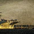 Uss Yorktown Cv10 by E Karl Braun