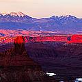 Utah Desert Sunset Panorama by Jonathan Gewirtz