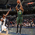 Utah Jazz V Memphis Grizzlies by Joe Murphy