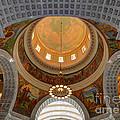 Utah State Capitol Rotunda Interior Archways by Gary Whitton