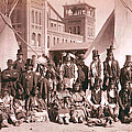 Ute Indians Denver Exposition by Studio Photo