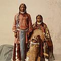Ute Jose Romero And Family by William Henry Jackson
