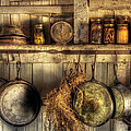 Utensils - Old Country Kitchen by Mike Savad
