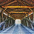 Utica Mills Covered Bridge by Mountain Dreams