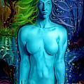 Utopian Seer by Luis  Navarro