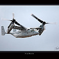 V-22 Osprey by Larry McManus
