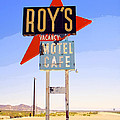 Vacancy Route 66 by William Dey