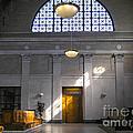 Vacant Railroad Station by John Waclo
