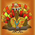 Vacation Turkey Illustration by Gravityx9   Designs