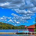 Vacationing On Big Moose Lake by David Patterson