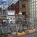 Vacuum Tubes And Diodes - Wallace Idaho by Daniel Hagerman