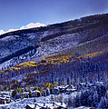 Vail Sunrise by Ellen Heaverlo