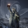 Light Of Liberty by Edmund Nagele