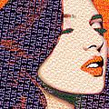 Vain Portrait Of A Woman by Tony Rubino