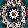 Vajrasattva Mandala Yantra by Marie Jamieson