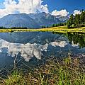 Val Di Sole - Covel Lake by Antonio Scarpi