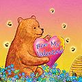 Valentine Baby Bear by Teresa Ascone