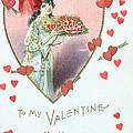 Valentine Card by English School
