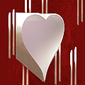 Valentine Paper Heart by Gary Eason