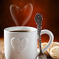 Valentine's Day Coffee by Amanda Elwell