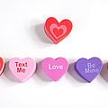 Valentine's Day Hearts by Scott Sanders