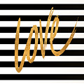 Valentines Stripes Iv by South Social Graphics